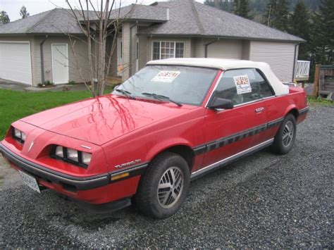 Timouth 1984 Pontiac Sunbird Specs, Photos, Modification