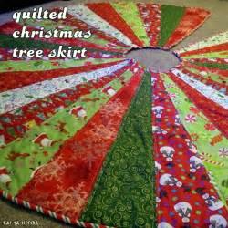 kai ta hetera quilted christmas tree skirt