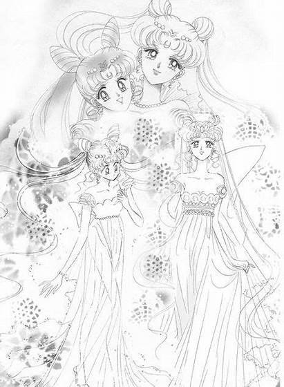 Serenity Sailor Moon Neo Queen Chibiusa Princess