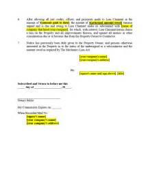 Lien Waiver Release Form Sample
