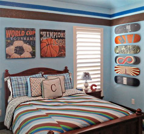 sports bedroom decor sports themed children s rooms and 13382