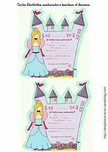 Invitation Anniversaire Fille 9 Ans : carte invitation anniversaire fille 6 ans gratuite ~ Melissatoandfro.com Idées de Décoration