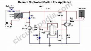 Remote Control Switch Circuit
