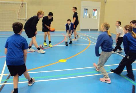 test valley school sports leaders ks basketball