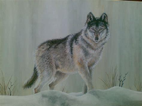 zeichnung wolf im schnee pokemon fanart
