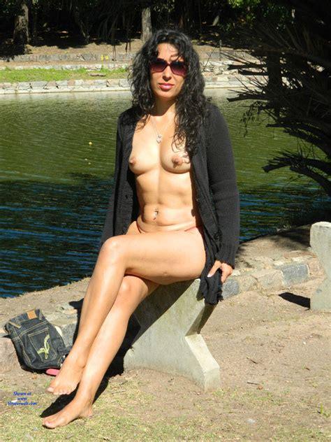Nude In A Public City Park January 2017 Voyeur Web