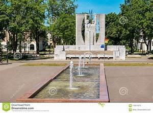 Kohtla-jarve Cityscape  Estonia  Eu Stock Image