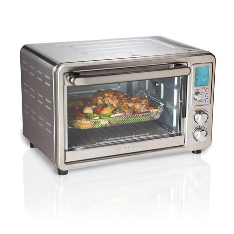 oven toaster fryer hamilton air beach crisp sure rotisserie digital fry ovens slice hamiltonbeach target walmart convection brand canada extra