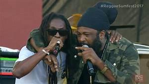 Video: Jah Cure feat. Fantan Mojah @ Reggae Sumfest 2017 7 ...