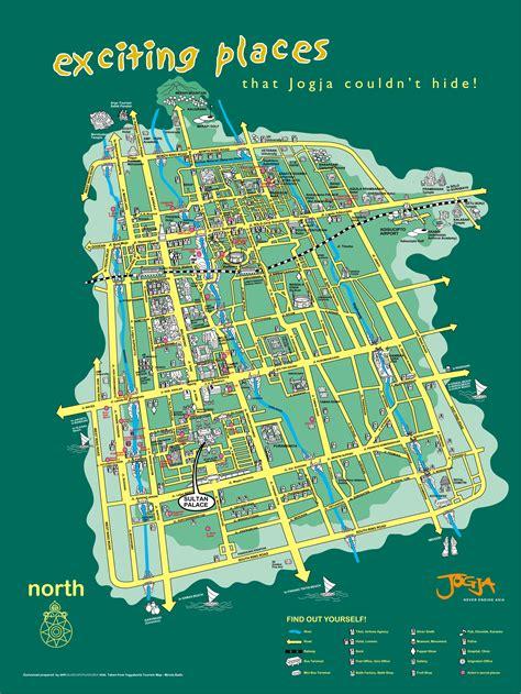 peta wisata yogyakarta mengintip kenangan pemanis buatan