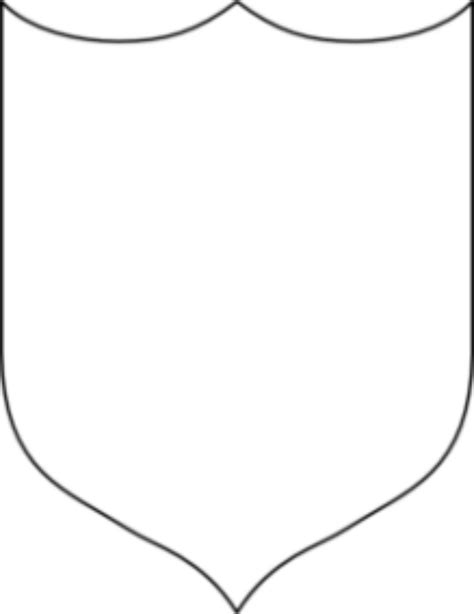 Shield Template Cool Shield Template Clipart Panda Free Clipart Images