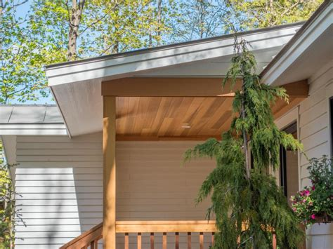 Cedar Porch Ceiling by How To Install A Charming Cedar Porch Ceiling Diynetwork