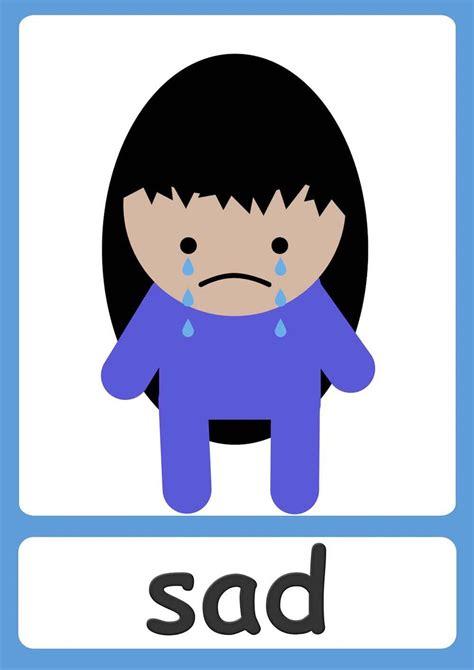 feelings flashcards  kindergarten preschool