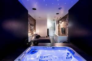 appartement chambre avec jacuzzi sauna privatif belgique With location jacuzzi privatif dans chambre