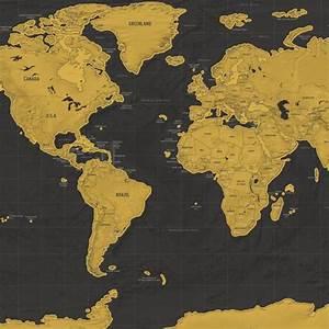 Carte Du Monde à Gratter Maison Du Monde : carte du monde gratter luxe cadeau maestro ~ Teatrodelosmanantiales.com Idées de Décoration