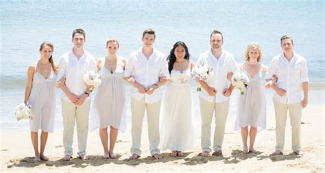 relaxed and intimate maui beach wedding