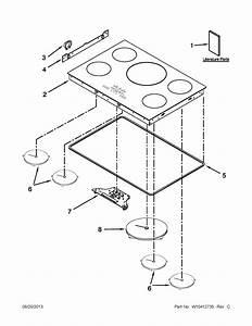 Kitchenaid Kicu569xbl00 Electric Cooktop Parts