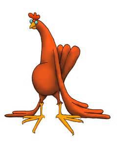 Cartoon Chicken Illustrations