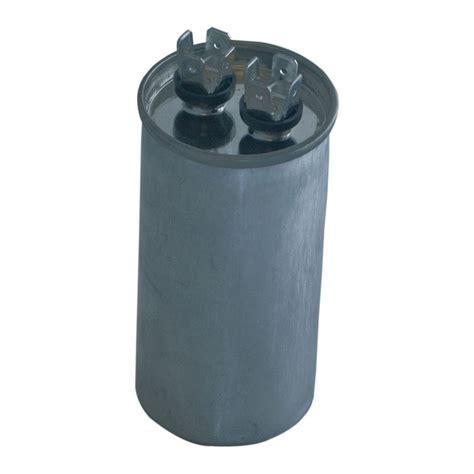 fan capacitor home depot eastman 40 5 mfd 440 vac round dual run capacitor 92061
