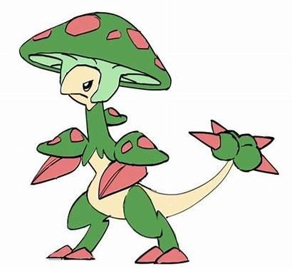 Pokemon Mega Breloom Beta Designs Deviantart Megas