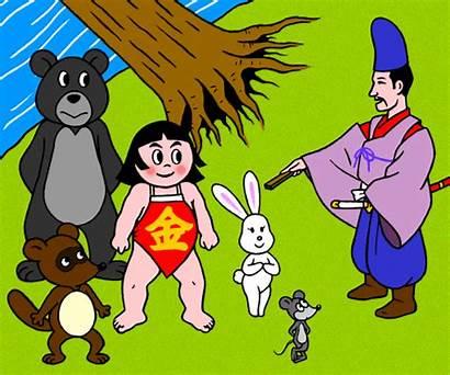 Kintaro Folk Japan Web Folklore Legends Kin