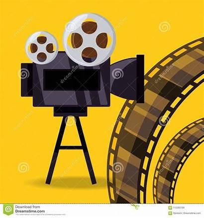 Reel Camera Filmstrip Short Film