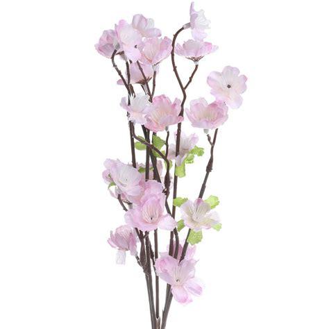 small artificial cherry blossom spray bushes and