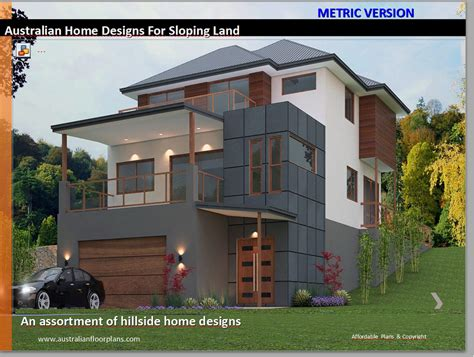 Hillside House Floor Plans For Sloping Land Over 50 Homes