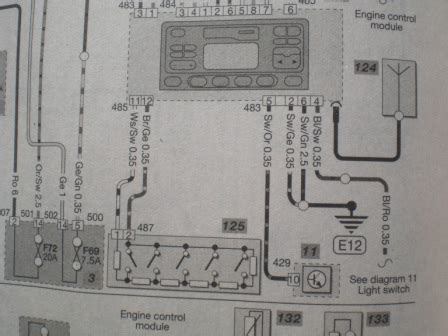 steering wheel stalk wiring diagram in car entertainment mk3 mondeo talkford