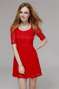 casual red dress tumblr Naf Dresses