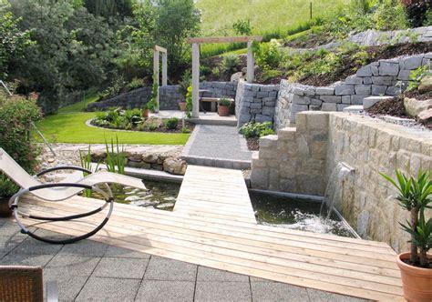 Terrassengestaltung Mit Wasserbecken by Terrassengestaltung Mit Wasserbecken Terrasse Und