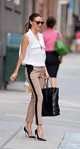 Les Couleurs Qui Vont Avec Le Rose : que mettre avec un pantalon beige les tendances mode de l automne hiver 2017 ne pas rater ~ Farleysfitness.com Idées de Décoration