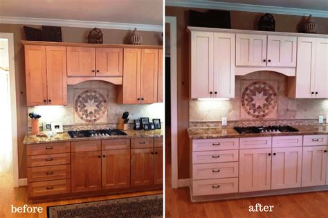 painting wood kitchen cabinets painting kitchen cabinets before and after photos all