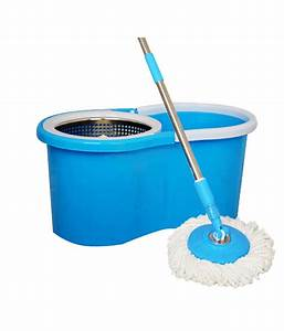 rinnovare bucket mop floor cleaner bluestainless steel With mop for floor wipes