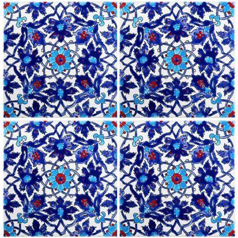 Blue pool tiles   Iznik Tile   Waterline Tile Ideas