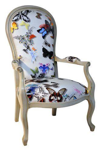 fauteuil voltaire tissu christian lacroix plus d 233 co c