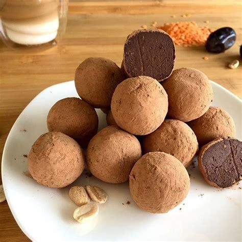 Lēcu trifeļu konfektes - INSTA receptes - tavs recepšu portāls