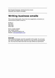 Business Letter Format Uk 9 Professional Email Writing Examples Pdf Examples