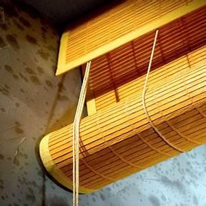 Store Enrouleur Bois : stores bois exterieurs pas cher ~ Premium-room.com Idées de Décoration