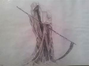 Grim Reaper DRAWING by CassandraWilson on DeviantArt