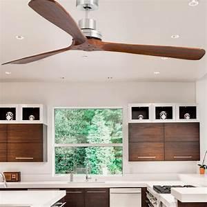 Ventilateur Plafond Bois : faro ventilateur de plafond led ventilateur pour le ~ Premium-room.com Idées de Décoration