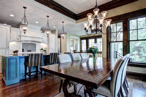 open floor plan kitchen  dining room traditional kitchen minneapolis  modern design