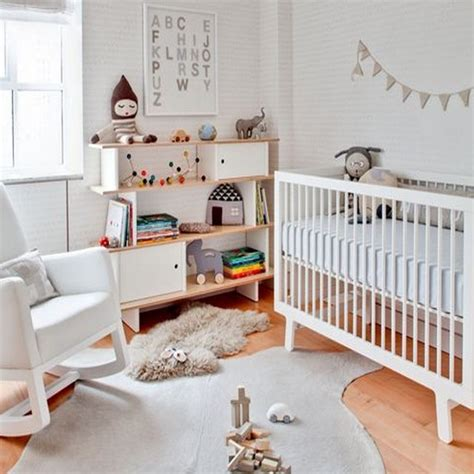 cocktail scandinave chambre bébé une chambre bébé blanche design et classique à la fois