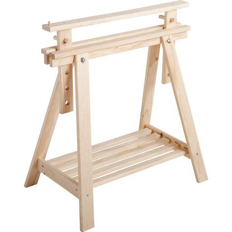table de cuisine en stratifié tréteau pin architecte h 70 x l 21 6 cm leroy merlin