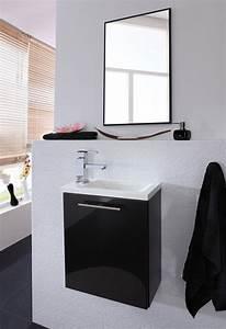 Badmöbel Set 2 Teilig : badm bel set alexo mit waschplatz 2 teilig 40 cm breit hochglanz anthrazit bad badm belsets ~ Bigdaddyawards.com Haus und Dekorationen