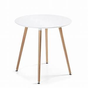 Table A Manger Blanche : table manger ronde design blanche 80cm alta ~ Preciouscoupons.com Idées de Décoration