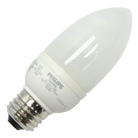 philips 202804 el a can 9w torpedo base compact fluorescent light bulb elightbulbs