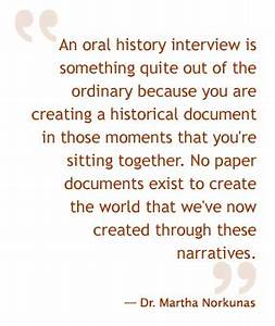 Oral History Interview Transcription Services from ...