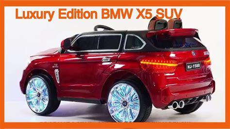 Power Wheels Bmw by Luxury Edition Bmw X5 Suv Style 12v Power Wheels Ride
