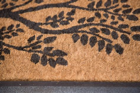 Doormat 40x120cm Tree Of Life Long Coir Door Mat Outdoor